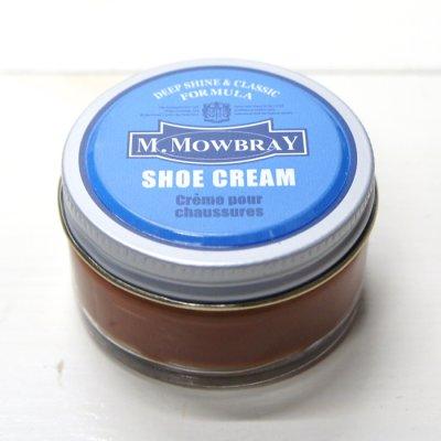 画像2: M.MOWBRAY(M.モゥブレィ)SHOE CREAM(シュークリーム)/Cognac(コニャック)