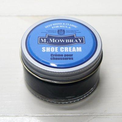 画像2: M.MOWBRAY(M.モゥブレィ)SHOE CREAM(シュークリーム)/Navy(ネイビー)