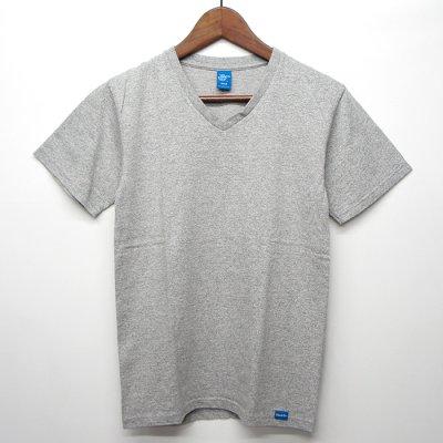 画像1: Good On(グッドオン)Short Sleeve V-Neck Tee(ショートスリーブVネックTシャツ)/Metal Grey(メタルグレー)