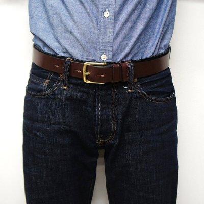 画像5: Martin Faizey(マーティンフェイジー)1.25inch West End Buckle Saddle Leather Belt(サドルレザーベルト)/Havana Brown(ハバナブラウン)