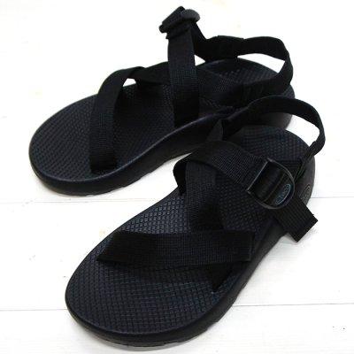 画像1: Chaco(チャコ)Z1 Classic Sandal(Z1クラシックサンダル)Men's/Black(ブラック)