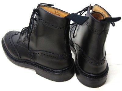 画像5: Tricker's(トリッカーズ)カントリー ブローグブーツ(ダイナイトソール)/Black  Box Calf(ブラックボックスカーフ)