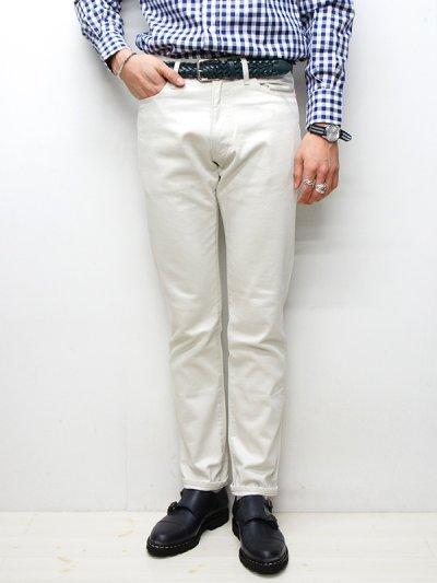 画像1: F.O.B FACTORY(エフオービーファクトリー)PIQUE 5POCKET PANTS(ピケ5ポケットパンツ)/Ivory(アイボリー)【裾上げ無料】