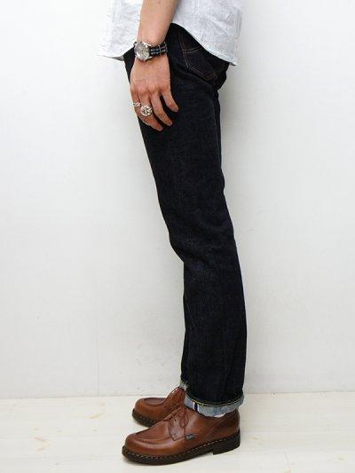 """画像2: F.O.B FACTORY(エフオービーファクトリー)SELVEDGE XX 5P PANTS(セルヴィッチ""""XX""""5Pパンツ)/INDIGO BLUE(インディゴブルー)ワンウォッシュ【裾上げ無料】"""