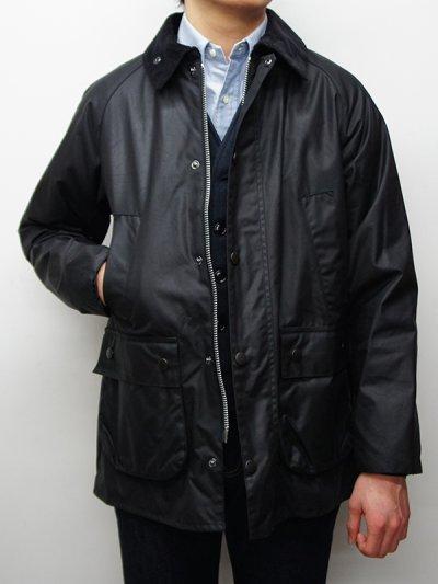 画像1: Barbour(バブァー)Bedale Jacket SL(スリムフィットビデイルジャケット)/Black(ブラック)