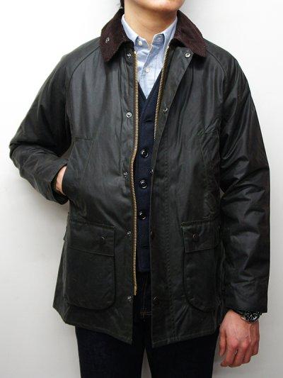 画像1: Barbour(バブァー)Bedale Jacket SL(スリムフィットビデイルジャケット)/Sage(セージ)
