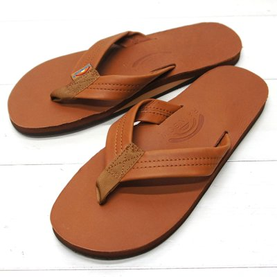 画像1: Rainbow Sandals(レインボーサンダル)Classic Leather Single Layer/Tan(タン)