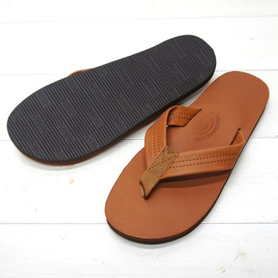 画像2: Rainbow Sandals(レインボーサンダル)Classic Leather Single Layer/Tan(タン)