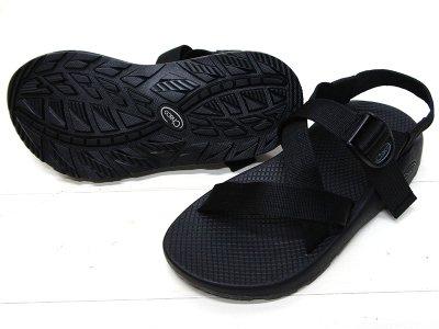画像2: Chaco(チャコ)Z1 Classic Sandal(Z1クラシックサンダル)Men's/Black(ブラック)