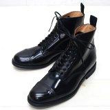 SANDERS(サンダース)Military Derby Boot(ミリタリーダービーブーツ)/Black(ブラック)