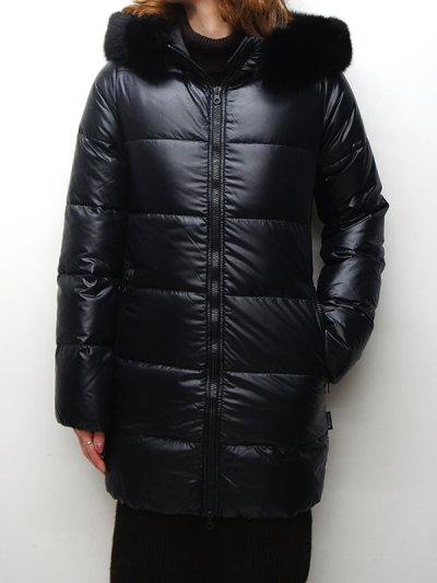 画像1: '18-19 F/W New!!DUVETICA(デュベティカ)KAPPADUE(カッパドゥエ)Black Fur-Fox/999ALL(all black)オールブラック