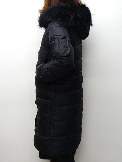 画像2: '17-18 F/W New!!DUVETICA(デュベティカ)CORCIRA(コルチラ)Black Fur-FinRacoon/999(nero)ブラック