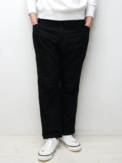 画像1: A VONTADE(アボンタージ)Fatigue Trousers(ファティーグトラウザー)Army Ripstop/Black(ブラック)【裾上げ無料】
