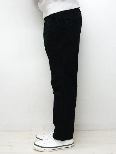 画像2: A VONTADE(アボンタージ)Fatigue Trousers(ファティーグトラウザー)Army Ripstop/Black(ブラック)【裾上げ無料】