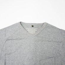 他の写真2: Nigel Cabourn(ナイジェル・ケーボン)3-PACK GYM TEES(3パックジムTシャツ)/Grey(グレー)