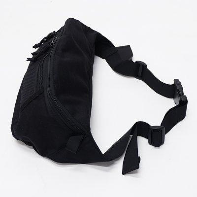 画像2: MIS(エムアイエス)MESH WAIST BAG(メッシュウエストバッグ)/Black(ブラック)