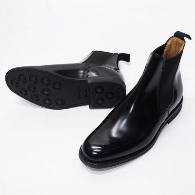 画像2: SANDERS(サンダース)Female Chelsea Boot(レディース チェルシーブーツ)ラバーソール/Black(ブラック)