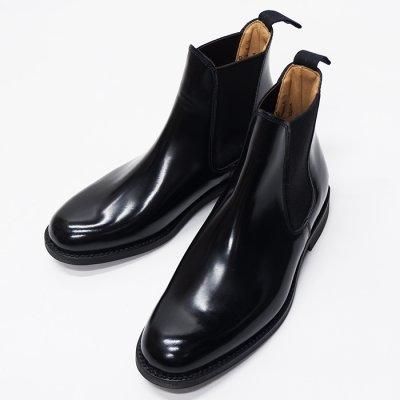 画像1: SANDERS(サンダース)Female Chelsea Boot(レディース チェルシーブーツ)ラバーソール/Black(ブラック)