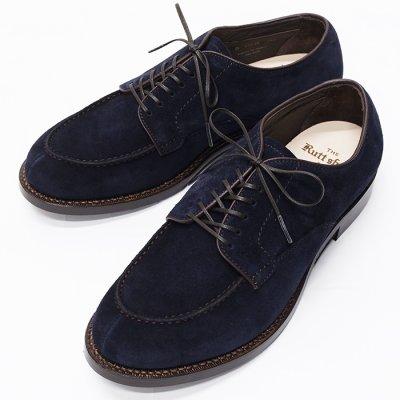 画像1: Rutt shoes(ラッドシューズ)SPLIT V-TIP OXFORD(スプリットVチップオックスフォード)/Dk.Navy(ダークネイビー)