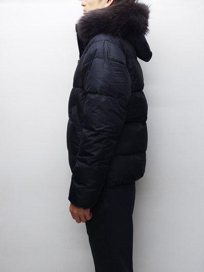 画像2: '18-19 F/W New!!DUVETICA(デュベティカ)VEGACINQUE(ベガチンクエ)Grey Fur-FinRacoon/999(nero)ブラック