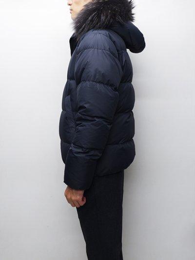 画像2: '18-19 F/W New!!DUVETICA(デュベティカ)VEGACINQUE(ベガチンクエ)Grey Fur-FinRacoon/770(blu navy)ネイビー