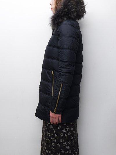 画像2: '18-19 F/W New!!DUVETICA(デュベティカ)BLODWEN(ブロドウェン)Grey Fur-FinRacoon/999(nero)ブラック