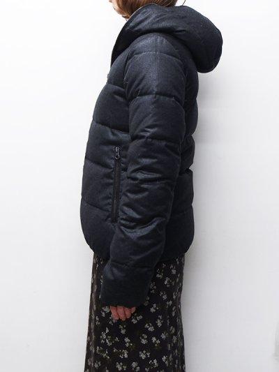 画像2: '18-19 F/W New!!DUVETICA(デュベティカ)THIADUE-wool(ティアドゥエウール)/190900(torba melange)ブラックグレー