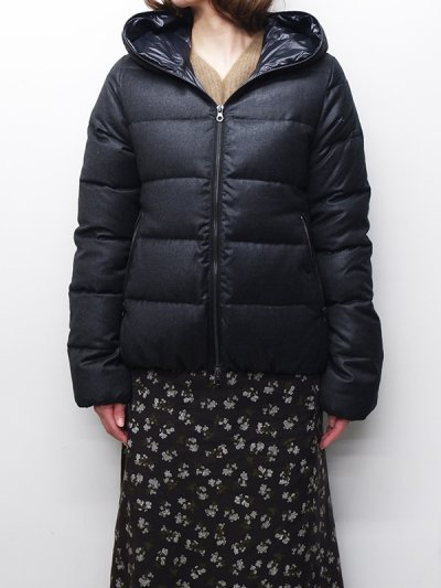 画像1: '18-19 F/W New!!DUVETICA(デュベティカ)THIADUE-wool(ティアドゥエウール)/190900(torba melange)ブラックグレー