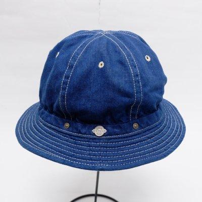 画像2: DECHO(デコー)STANDARD KOME HAT(スタンダードコメハット)Cotton Linen Denim/S.Blue(S.ブルー)