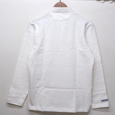 画像2: BARBARIAN(バーバリアン)クラシック ヘンリーネックシャツ(SOLID)/White(ホワイト)