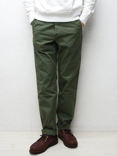 画像1: A VONTADE(アボンタージ)Classic Chino Trousers(クラシックチノトラウザー)Regular Fit/Olive(オリーブ)【裾上げ無料】