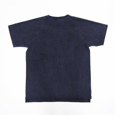 """画像2: Good On(グッドオン)Short Sleeve Heavy Raglan Pocket Tee(ショートスリーブヘビーラグランポケットTシャツ)""""Pigment Dye""""/Navy(ネイビー)"""