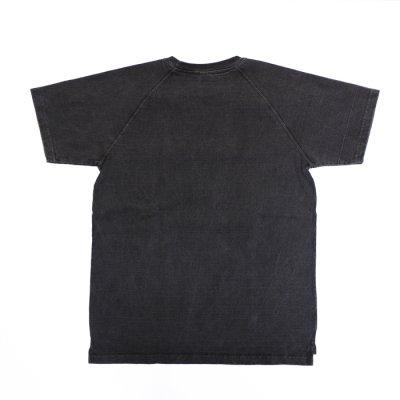 """画像2: Good On(グッドオン)Short Sleeve Heavy Raglan Pocket Tee(ショートスリーブヘビーラグランポケットTシャツ)""""Pigment Dye""""/Black(ブラック)"""