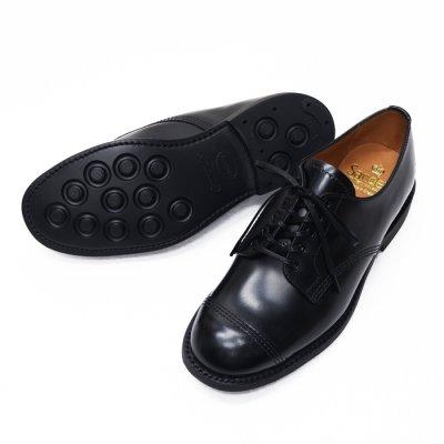 画像2: SANDERS(サンダース)Female Military Derby Shoe(レディース ミリタリーダービーシューズ)Rubber Sole/Black(ブラック)
