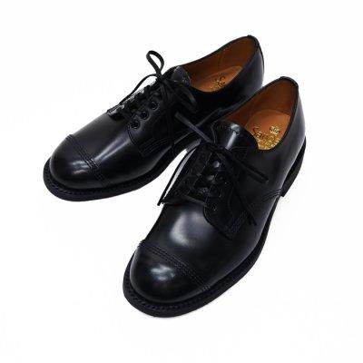 画像1: SANDERS(サンダース)Female Military Derby Shoe(レディース ミリタリーダービーシューズ)Rubber Sole/Black(ブラック)
