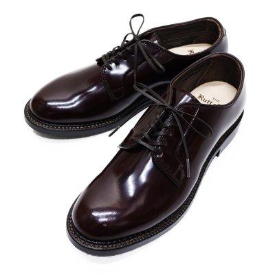 画像1: Rutt shoes(ラッドシューズ)DOUBLE WELT PLAIN BLUCHER(ダブルウェルトプレーンブラッチャー)/Burgundy(バーガンディ)