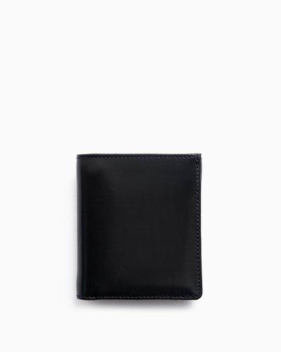 画像1: Whitehouse Cox(ホワイトハウスコックス)S1975 Compact Wallet(コンパクトウォレット)/Black(ブラック)