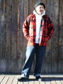 他の写真1: FILSON(フィルソン)MACKINAW WOOL CRUISER(マッキーノウールクルーザー)/RED×BLACK(レッド×ブラック)