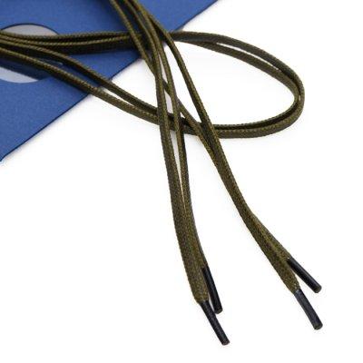 画像2: SANDERS(サンダース)Flat Waxed Shoe Lace 80cm(純正シューレース)/Green(グリーン)※メール便発送可※