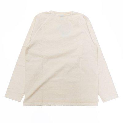 """画像2: Good On(グッドオン)Long Sleeve Heavy Raglan Pocket Tee(ロングスリーブヘビーラグランポケットTシャツ)""""Pigment Dye""""/Natural(ナチュラル)"""