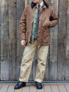 他の写真2: Barbour(バブァー)Bedale Jacket SL(スリムフィットビデイルジャケット)/Bark(ブラウン)