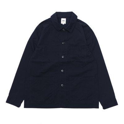 画像1: F.O.B FACTORY(エフオービーファクトリー)FRENCH SHIRT JACKET(フレンチシャツジャケット)/Navy(ネイビー)