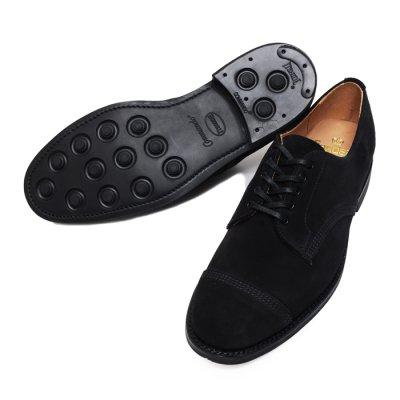 画像2: ※Exclusive※SANDERS(サンダース)Military Derby Shoe(ミリタリーダービーシューズ)/Black Suede(ブラックスエード)
