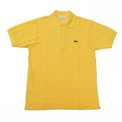 画像1: LACOSTE(ラコステ)Classic Pique Polo Shirt(クラシックピケポロシャツ)/Jaune(イエロー)※Imported from France