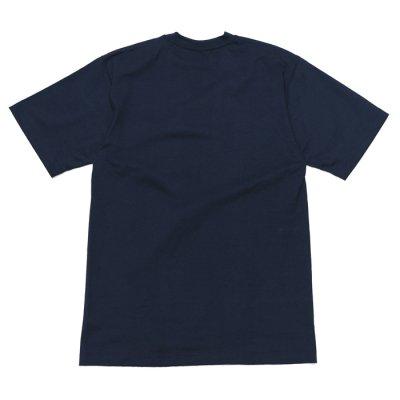 画像2: CAMBER(キャンバー)Max Weight Crew Neck Pocket Tee(マックスウエイトクルーネックポケット付Tシャツ)8oz/Navy(ネイビー)