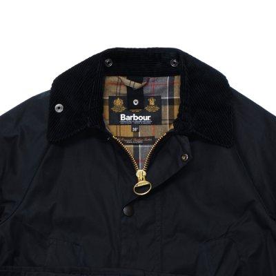 画像2: Barbour(バブァー)Bedale Jacket SL(スリムフィットビデイルジャケット)/Navy(ネイビー)