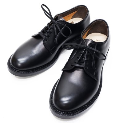 画像1: Rutt shoes(ラッドシューズ)MILES(マイルス)PLAIN BLUCHER OX/Black(ブラック)
