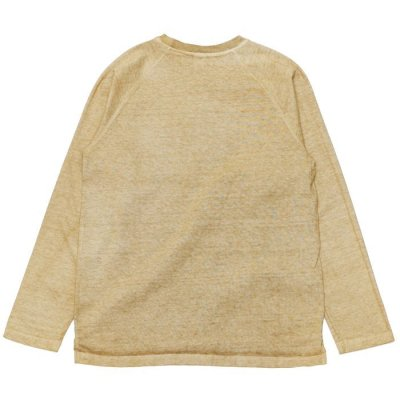"""画像2: Good On(グッドオン)Long Sleeve Heavy Raglan Pocket Tee(ロングスリーブヘビーラグランポケットTシャツ)""""Pigment Dye""""/Latte(ラテ)"""