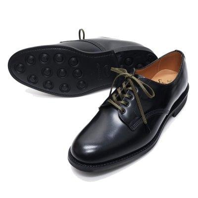 画像2: ※新仕様※SANDERS(サンダース)Officer Shoe(オフィサーシューズ)/Black(ブラック)