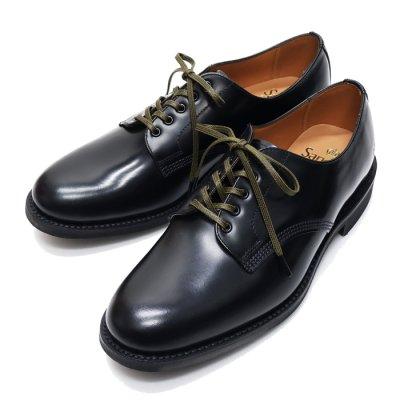 画像1: ※新仕様※SANDERS(サンダース)Officer Shoe(オフィサーシューズ)/Black(ブラック)